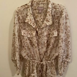 Chico's Button Down Blouse/Shirt